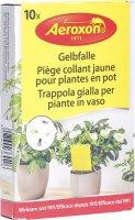 Image du produit Aeroxon Gelbfalle für Topfpflanzen 10 Stück