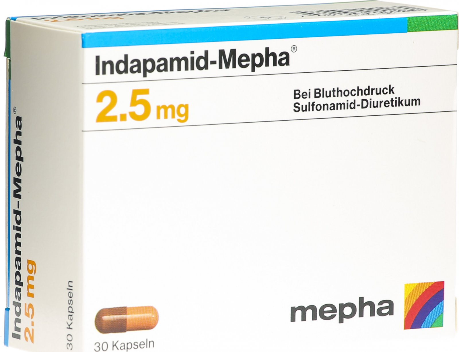 Indapamid Mepha Kapseln 20 Stück in der Adler Apotheke