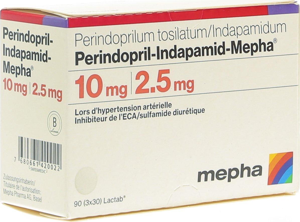 Perindopril Indapamid Mepha 200/20.20 Dose 20 Stück in der Adler Apotheke