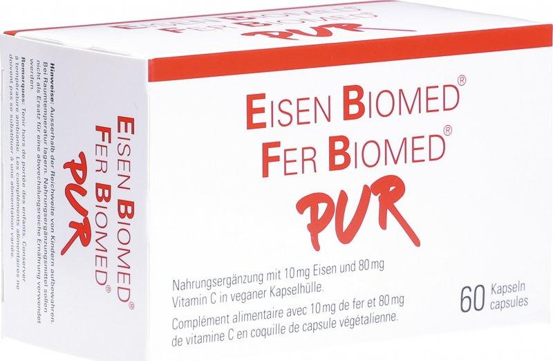 eisen biomed pur kapseln 60 st ck in der adler apotheke