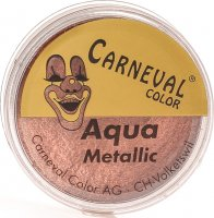 Carneval Color Aqua Make Up Metallic Kupf Dose 8ml