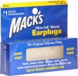 Macks Earplugs Transparent 2 Paar