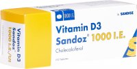 Vitamin D3 Sandoz Tabletten 1000 Ie 100 Stück