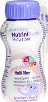 Image du produit Nutrini Drink Multi Fibre Erdbeer 200ml
