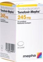 Immagine del prodotto Tenofovir Mepha Lactab 245mg Dose 30 Stück