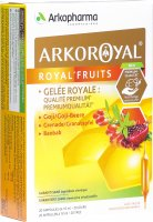 Image du produit Arkoroyal Superfrüchte 20 Ampullen 10ml