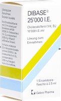 Immagine del prodotto Dibase Lösung 25000 Ie Flasche 2.5ml