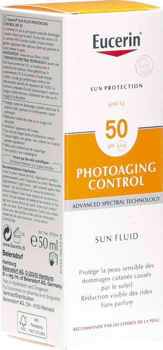 Eucerin Sun Face Anti Age LSF 50 Tube 50ml in der Adler..