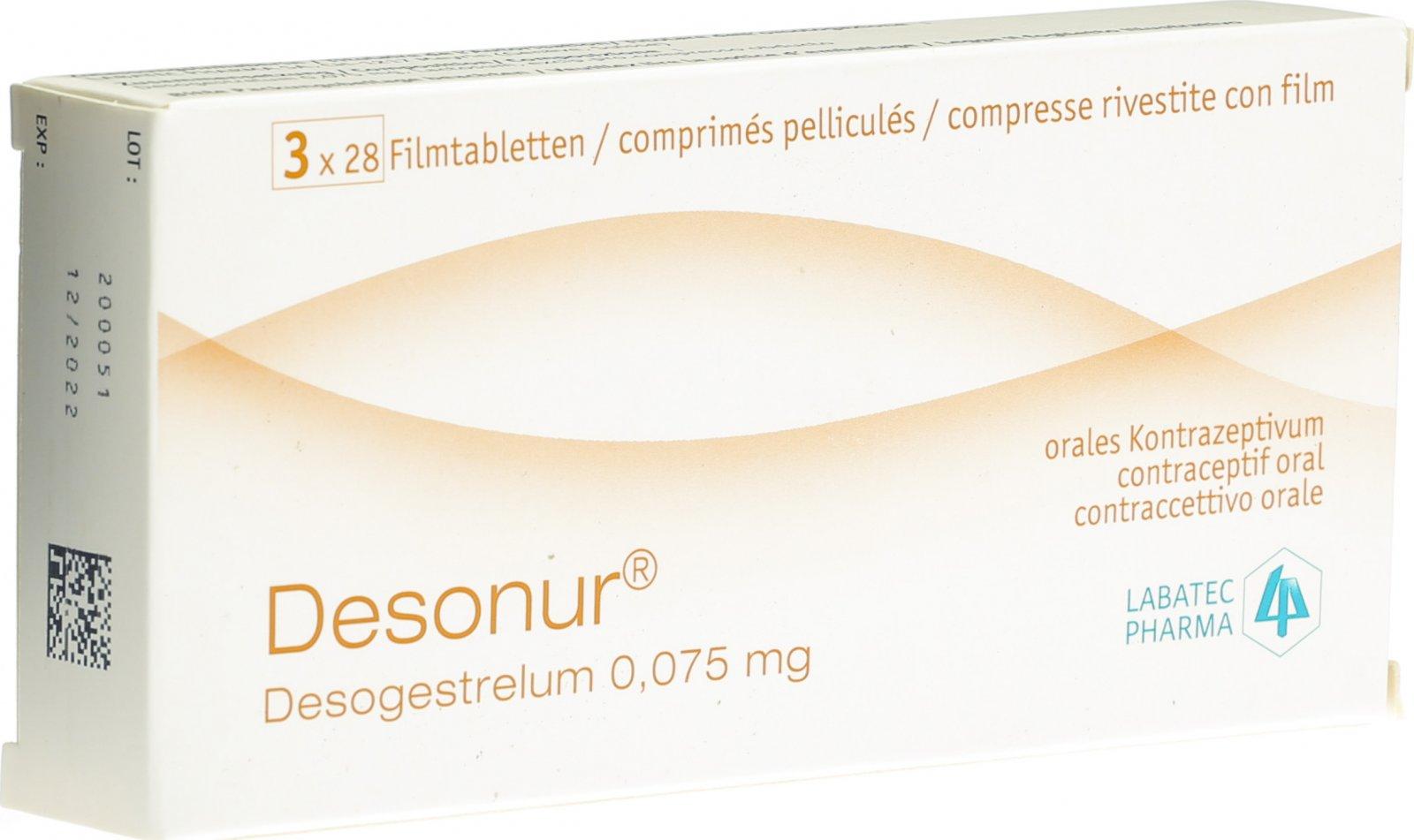 Erfahrung desofemono Pille Jubrele