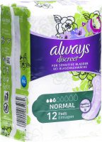 Product picture of Always Discreet Inkontinenz Normal 12 Stück