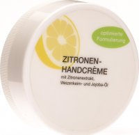 Intercosma Handcreme Zitrone Dose 75ml