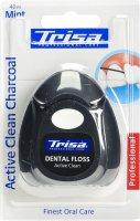 Image du produit Trisa Zahnseide Active Clean Charcoal