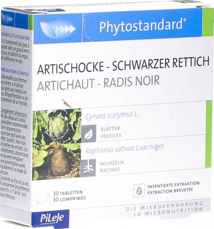 phytostandard artischocke schw rettic tabletten 30 st ck. Black Bedroom Furniture Sets. Home Design Ideas