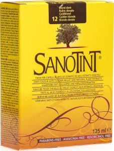 Product picture of Sanotint Hair color 12 gold blonde