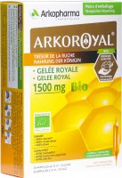 Image du produit Arkoroyal Gelee Royale 1500mg Bio 20x 10ml