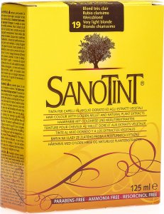 Product picture of Sanotint Hair color 19 white blonde