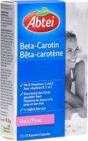 Image du produit Abtei Bêta-carotène Capsules 25 pièces
