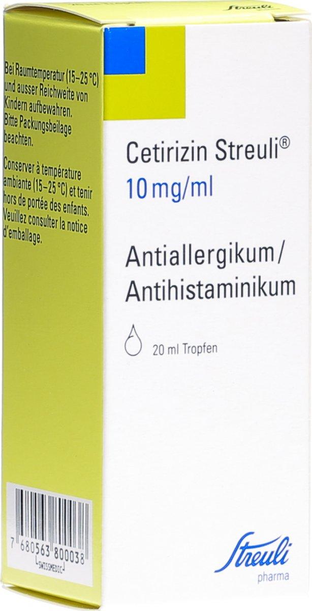 cetirizin stillzeit