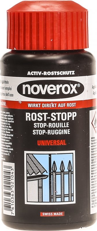 noverox rost stopp universal 250ml in der adler apotheke. Black Bedroom Furniture Sets. Home Design Ideas
