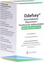 Immagine del prodotto Odefsey Filmtabletten 200mg/25mg/25mg Flasche 30 Stück