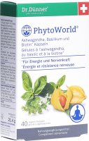 Product picture of Dr. Dünner Phytoworld Ashwagandha Basil Biotin Capsules 40 Pieces