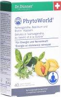 Immagine del prodotto Dr. Dünner Phytoworld Ashwagandha Basilico Biotina 40 pezzi