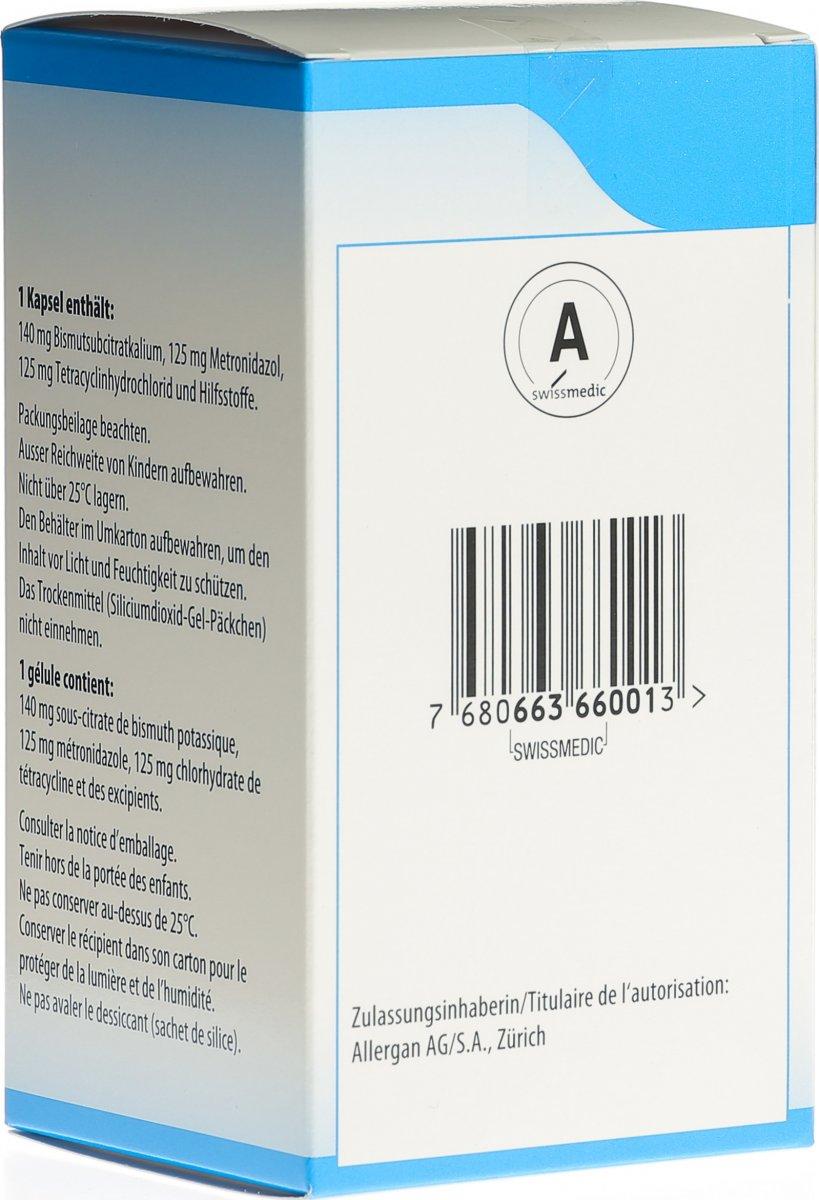 Milchprodukte pylera Tetracyclin