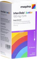 Immagine del prodotto Irfen Dolo Junior Suspension 100mg/5ml Flasche 200ml