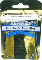 Product picture of Grethers Blackcurrant Pastillen without sugar bag 30g