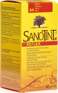 Product picture of Sanotint Hair tone No 51 black