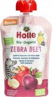 Immagine del prodotto Holle Zebra Beet Pouchy Mela Banana Barbabietola 100g