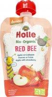 Image du produit Holle Red Bee Pouchy Pomme Fraise 100g