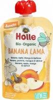 Image du produit Holle Banana Lama Pouchy Banana Apple Mango Apricot 100g
