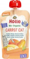 Product picture of Holle Carrot Cat Pouchy Carrot Mango Banana Pear 100g