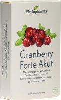 Image du produit Phytopharma Cranberry Forte Akut Tabletten 30 Stück