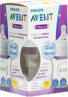 Image du produit Avent Philips Naturnah Flasche 120ml Glas (neu)