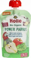 Product picture of Holle Power Parrot Pouchy Pear Apple Spinach 100g