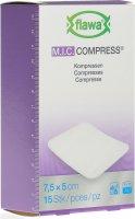 Product picture of Flawa M.I.C. Kompressen Nicht Steril 7.5x5cm 15 Stück