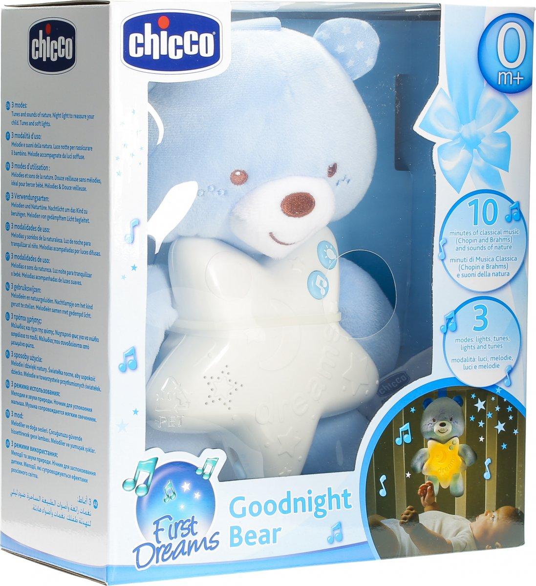 Chicco Gute Nacht Baerchen Blau In Der Adler Apotheke