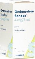 Immagine del prodotto Ondansetron Sandoz Sirup 4mg/5ml Flasche 50ml