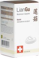 Product picture of LianGu Reishi Mushrooms capsules tin 60 pieces