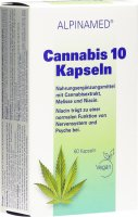 Product picture of Alpinamed Cannabis 10 Capsules 60 Pieces