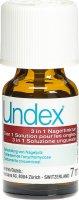 Immagine del prodotto Undex 3 in 1 bottiglia di tintura per unghie da 7ml