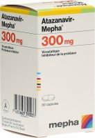 Immagine del prodotto Atazanavir Mepha Kapseln 300mg Dose 30 Stück