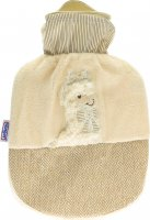 Product picture of Sänger Hot-water bottle natural rubber velour 0.8L Lama