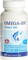 Product picture of Omega-life Protect 500 capsules can 60 pieces