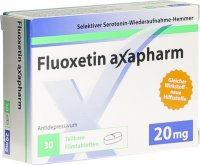 Immagine del prodotto Fluoxetin Axapharm Filmtabletten 20mg 30 Stück