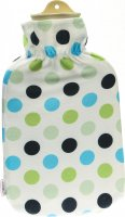 Product picture of Sänger Hot-water bottle natural rubber plush 2L spots