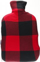 Product picture of Sänger Hot-water bottle natural rubber cord 2L tartan