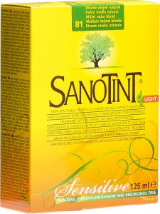 Product picture of Sanotint Sensitive Light Hair Color 81 Medium natural blonde